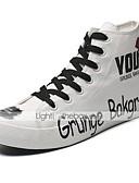 رخيصةأون سترات و بدلات الرجال-للرجال كانفا خريف & شتاء أحذية رياضية بلوك ألوان أبيض / أسود / أصفر