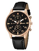 cheap Quartz Watches-Geneva Women's Wrist Watch Quartz New Design Casual Watch Cool Leather Band Analog Casual Fashion Black / Brown - Black / Silver White / Brown Black / Rose Gold One Year Battery Life