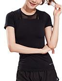 povoljno Majica s rukavima-Majica s rukavima Žene - Aktivan / Osnovni Sport Jednobojni Mrežica