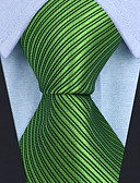 cheap Men's Ties & Bow Ties-Men's Party / Work Necktie - Solid Colored / Striped / Jacquard