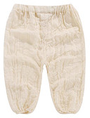 Χαμηλού Κόστους Βρεφικά Για Αγόρια μπλουζάκια-Μωρό Αγορίστικα Βασικό Καθημερινά Μονόχρωμο Πολυεστέρας Παντελόνι Λευκό / Νήπιο