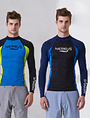 cheap Dress Watches-Men's Diving Rash Guard UV Sun Protection Nylon / Elastane Long Sleeve Swimwear Beach Wear Diving Suit / Top Swimming / Surfing / Snorkeling / Stretchy
