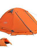 hesapli Kadın Etekleri-FLYTOP 2 kişi Çadır Açık hava Hafif Rüzgar Geçirmez Uv dayanıklı Çift Kat Direk Kamp çadırı >3000 mm için Kamp / Yürüyüş / Mağaracılık Polyester 210*270*115 cm