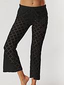ieftine Pantaloni de Damă-Pentru femei Activ Picior Larg Pantaloni Mată