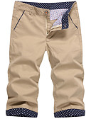 ieftine Maieu & Tricouri Bărbați-Bărbați Șic Stradă Pantaloni Scurți Pantaloni Mată