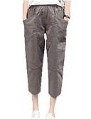 ieftine Pantaloni de Damă-Pentru femei Activ Harem Pantaloni Mată