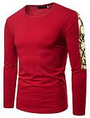 billige Herreskjorter-T-skjorte Herre - Fargeblokk Grunnleggende