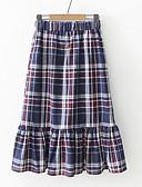 preiswerte Damen Röcke-Damen Grundlegend A-Linie Röcke - Verziert