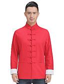 povoljno Muške košulje-Majica Muškarci Dnevno / Izlasci Color block