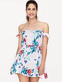 זול חולצה-סירה רחב מעל הברך שמלה נדן רזה ליציאה בגדי ריקוד נשים