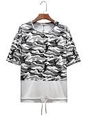 ieftine Maieu & Tricouri Bărbați-Bărbați Tricou De Bază - camuflaj