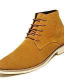 hesapli Erkek Gömlekleri-Erkek Ayakkabı Süet Sonbahar Rahat Çizmeler Günlük için Siyah / Kahverengi / Mavi