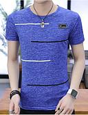 povoljno Muške majice i potkošulje-Majica s rukavima Muškarci Izlasci / Vikend Color block Okrugli izrez / Kratkih rukava