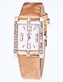 cheap Quartz Watches-Women's Dress Watch Wrist Watch Quartz New Design Casual Watch Imitation Diamond PU Band Analog Casual Fashion Black / White / Blue - Red Blue Pink One Year Battery Life