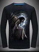 お買い得  メンズTシャツ&タンクトップ-男性用 Tシャツ ヴィンテージ ポートレート