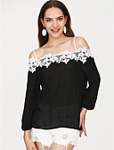 baratos Vestidos Femininos-Mulheres Blusa Moda de Rua Sólido Com Alças