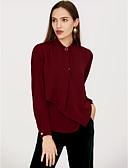 ieftine Bluză-Pentru femei Stil Nautic Bluză Ieșire Mată / Zvelt