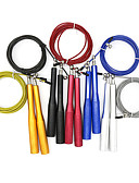 cheap Quartz Watches-Jump Rope With 1 pcs Aluminum / Plastic Shell / Wire Adjustable, Durable Crossfit, Weight Loss, Training, Calories Burned For Men / Women Exercise & Fitness / Bodybuilding / Boxing Training Home