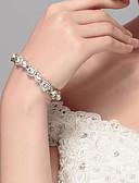 preiswerte Hochzeitskleider-Damen Stilvoll Armband - Kreativ Stilvoll, Europäisch Armbänder Silber Für Hochzeit Alltag