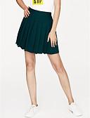 זול חצאיות לנשים-אחיד - חצאיות גזרת A חמוד בגדי ריקוד נשים