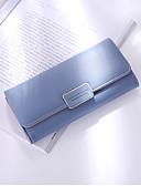 cheap Women's Belt-Women's Bags PU(Polyurethane) Wallet Zipper Blue / Black / Blushing Pink