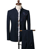 cheap Men's Shirts-Men's Suits-Print,Embroidered