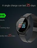 billige Moteundertøy-smart armbånd smartwatch b35 for android ios bluetooth sport vanntett hjertefrekvensmåler blodtrykksmåling med morsomme spill berøringsskjerm pedometer ring påminnelse aktivitet tracker