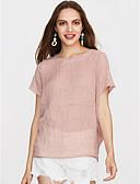 tanie T-shirt-T-shirt Damskie Podstawowy Solidne kolory