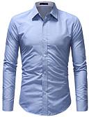 preiswerte Herrenhemden-Herrn Einfarbig - Grundlegend Hemd