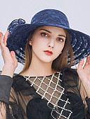 cheap Women's Nightwear-Lace Hats with Bowknot 1pc Wedding / Party / Evening Headpiece