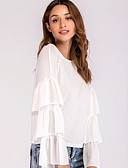ieftine Cămașă-Pentru femei Tricou De Bază - Mată