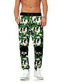 ieftine Pantaloni Bărbați si Pantaloni Scurți-Bărbați Șic Stradă / Exagerat Pantaloni Chinos / Pantaloni Sport Pantaloni camuflaj