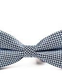 abordables Cravates & Noeuds Papillons pour Homme-Homme Soirée / Basique Noeud Papillon - Noeud, Couleur Pleine / Pied-de-poule