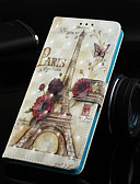 halpa Puhelimen kuoret-Etui Käyttötarkoitus Apple iPhone XS / iPhone XR / iPhone XS Max Lomapkko / Korttikotelo / Tuella Suojakuori Scenery / Eiffel-torni Kova PU-nahka