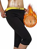 cheap Women's Swimwear & Bikinis-Body Shaper / Slimming Pants / Capris Leggings With Neoprene Stretchy, Hot Sweat Weight Loss, Tummy Fat Burner, Tummy Control For Men's / Women's Yoga / Exercise & Fitness / Bikram Leg, Abdomen