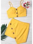 ieftine Bluze & Camisole Femei-Pentru femei Scurt Tank Tops - Mată, Fustă Fără Bretele