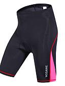baratos Biquínis e Roupas de Banho Femininas-WOSAWE Mulheres Bermudas Acolchoadas Para Ciclismo Moto Shorts / Calças Secagem Rápida, A Prova de Vento, Respirável Riscas, Clássico