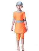 halpa Tyttöjen uima-asut-Lapset Tyttöjen Boheemi Urheilu Color Block Lyhyt hiha Uima-asu Uima-allas