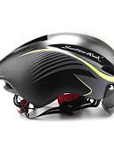preiswerte Eiskunstlaufkleider-Scohiro-Work Erwachsene Fahrradhelm mit Schutzbrille Aero Helm 8 Öffnungen ASTM F 2040 Stoßfest, Leichtes Gewicht, Belüftung EPS Sport Straßenradfahren / Geländerad - A / B / E