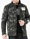 olcso Férfi dzsekik és kabátok-Alap Férfi Dzsekik - álcázás