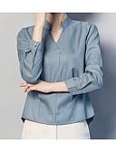 ieftine Tricou-Pentru femei Cămașă Activ - Dungi