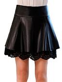 povoljno Ženske suknje-Žene A kroj Osnovni Suknje - Jednobojni