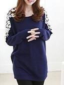 povoljno Ženske majice na bratelice i potkošulje-Majica s rukavima Žene Izlasci Color block