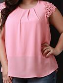 olcso Blúz-Bő Női Extra méret Póló - Egyszínű