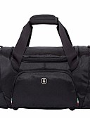 cheap Men's Polos-Nylon Solid Color Travel Bag Solid Solid Color Black