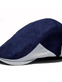 זול כובעים לגברים-כובע כומתה (בארט) - קולור בלוק בסיסי בגדי ריקוד גברים