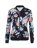 cheap Women's Blazers & Jackets-Women's Jacket - Solid Colored / Geometric V Neck