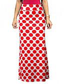 povoljno Ženske suknje-Žene A kroj Aktivan Suknje - Na točkice