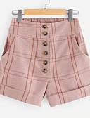 ieftine Pantaloni de Damă-Pentru femei De Bază Pantaloni Scurți Pantaloni Plisat