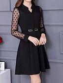 cheap Work Dresses-Women's Going out Slim Sheath Dress V Neck
